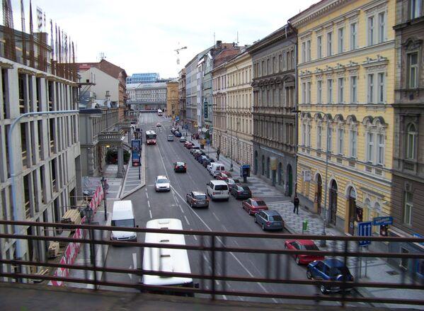 La via Křižíkova a Praga, Repubblica Ceca. - Sputnik Italia