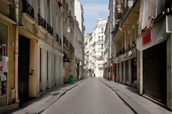La strada Rue Tiquetonne a Parigi, Francia. - Sputnik Italia
