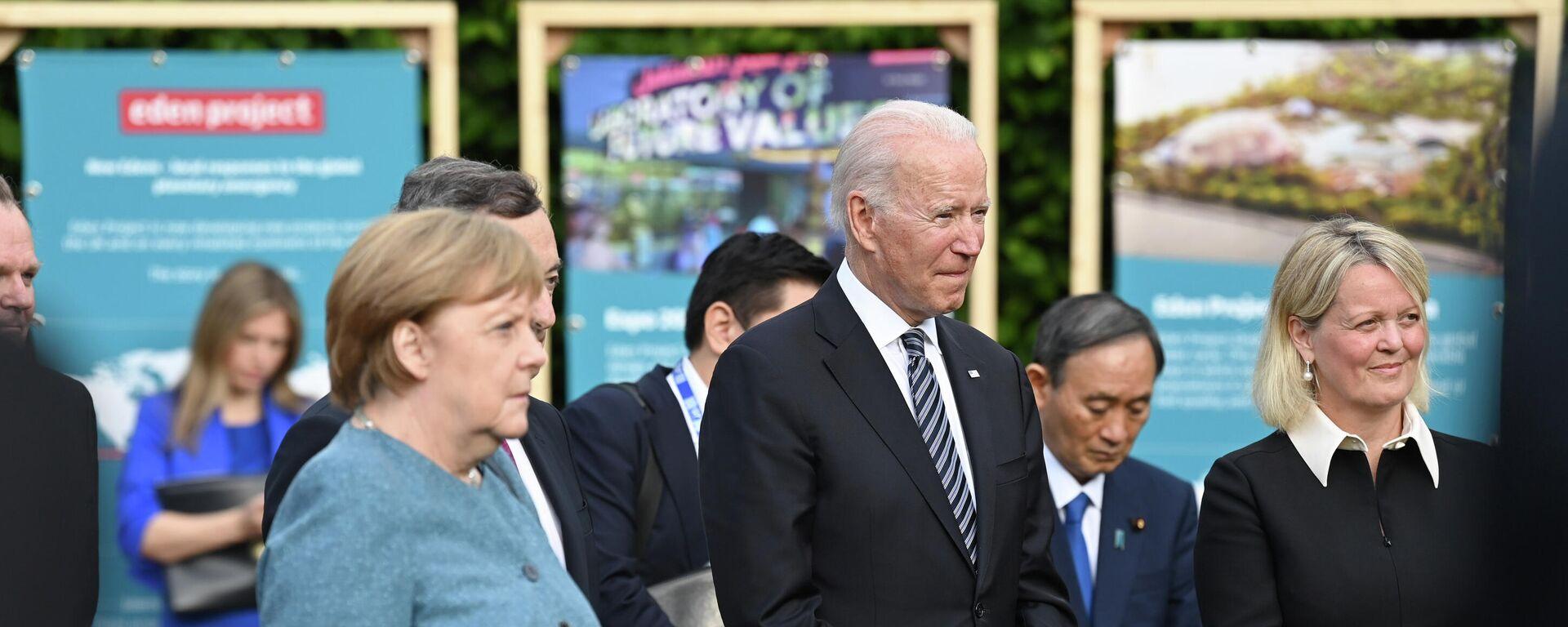 Joe Biden al G7 - Sputnik Italia, 1920, 15.06.2021