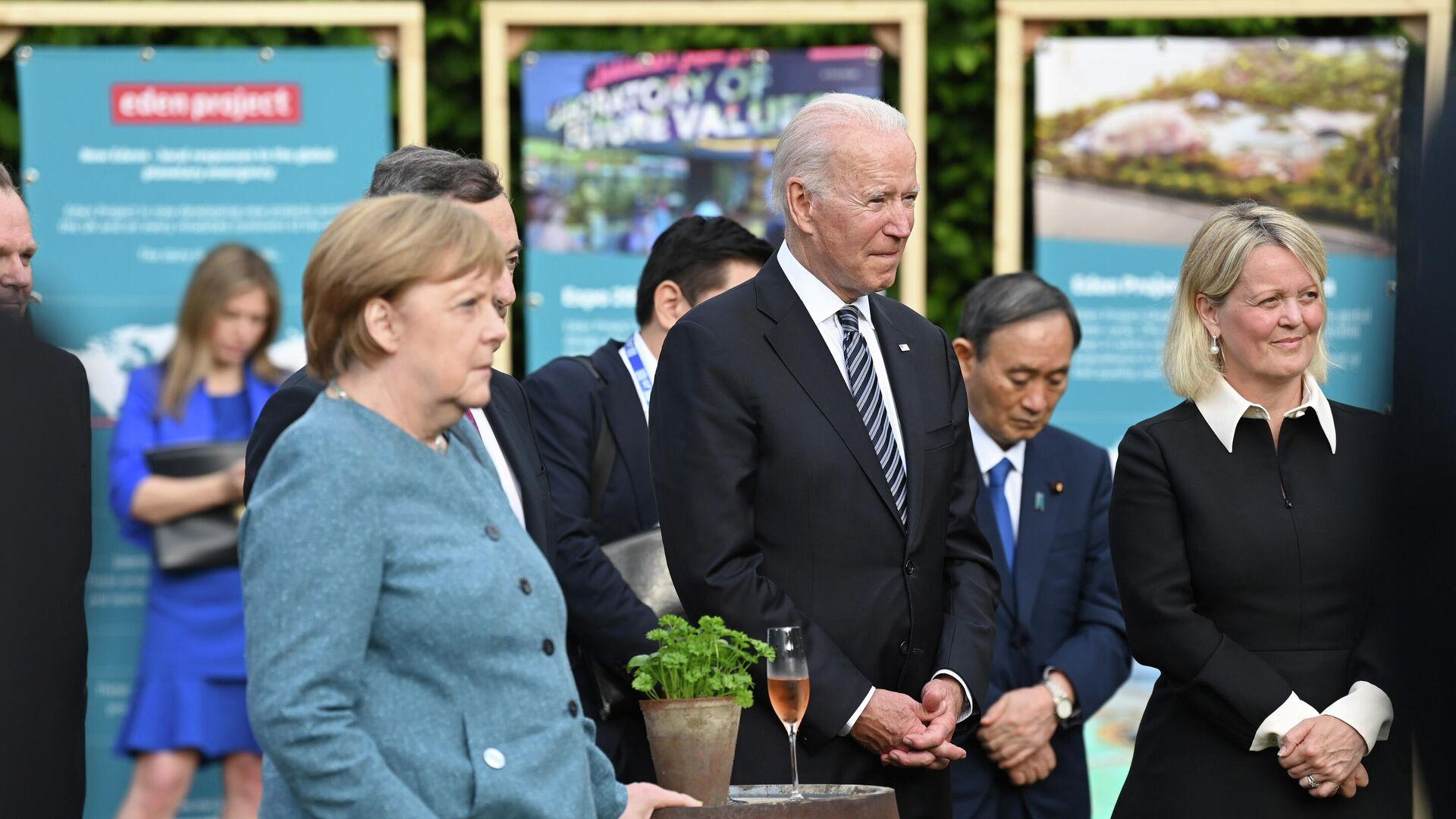 Joe Biden al G7 - Sputnik Italia, 1920, 13.06.2021