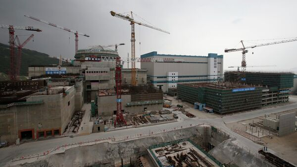 A nuclear reactor and related factilities as part of the Taishan Nuclear Power Plant, to be operated by China Guangdong Nuclear Power (CGN), is seen under construction in Taishan, Guangdong province - Sputnik Italia