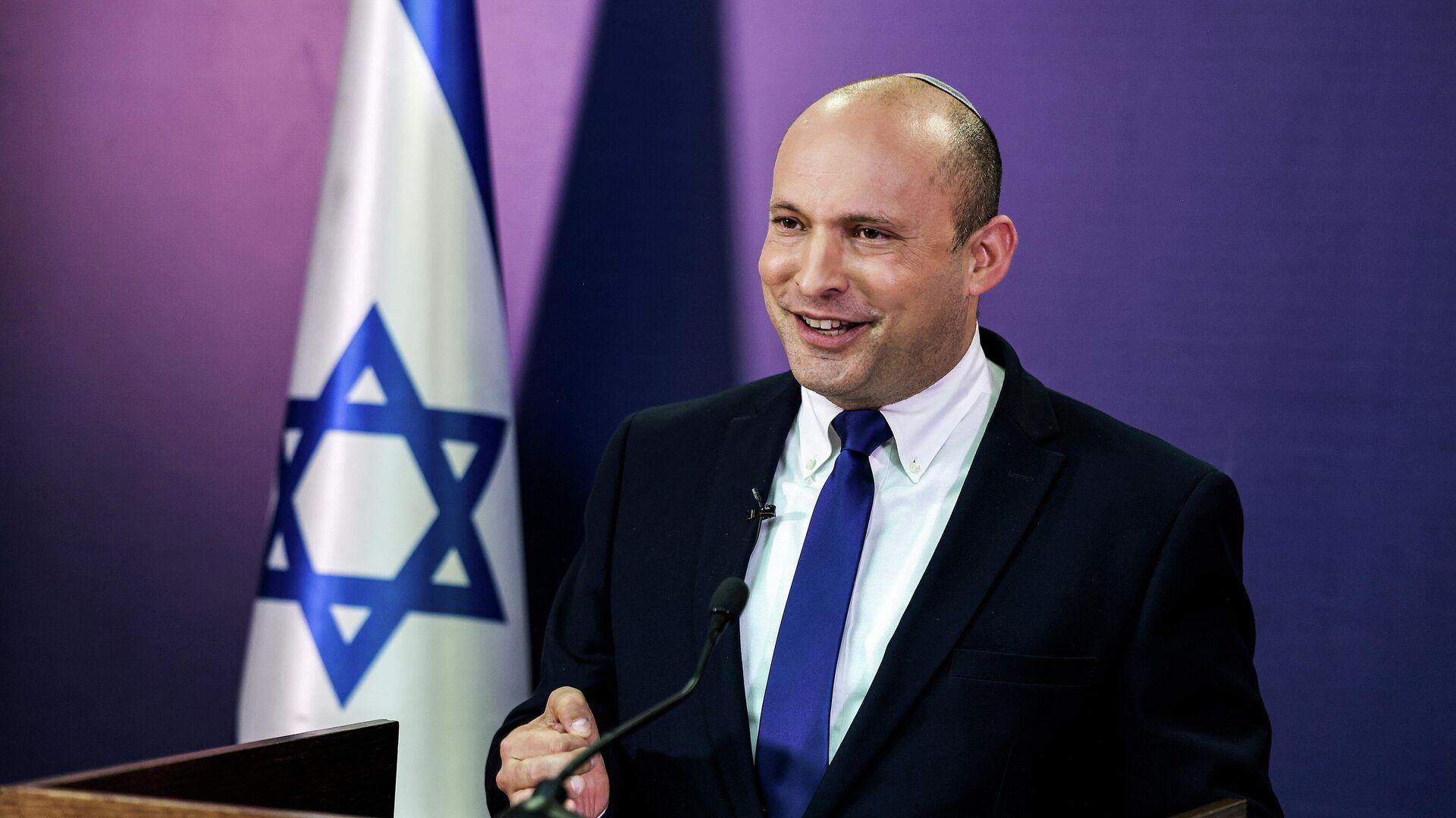Il Primo ministro di Israele Naftali Bennett - Sputnik Italia, 1920, 14.06.2021