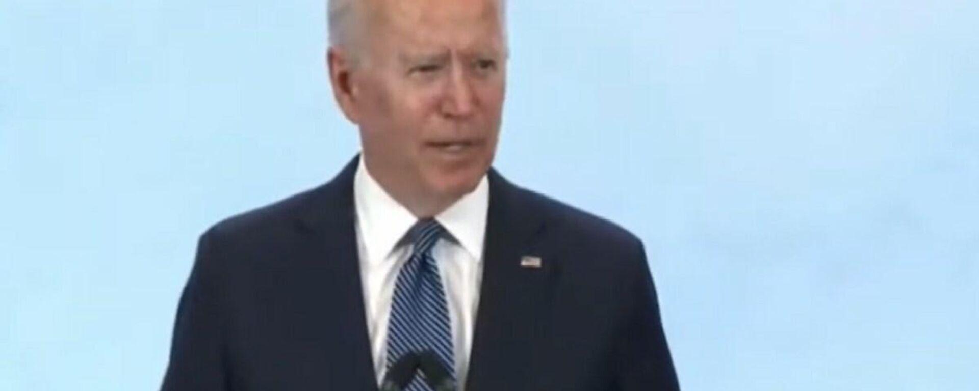 Biden confonde la Libia e la Siria durante discorso su Russia - Sputnik Italia, 1920, 14.06.2021