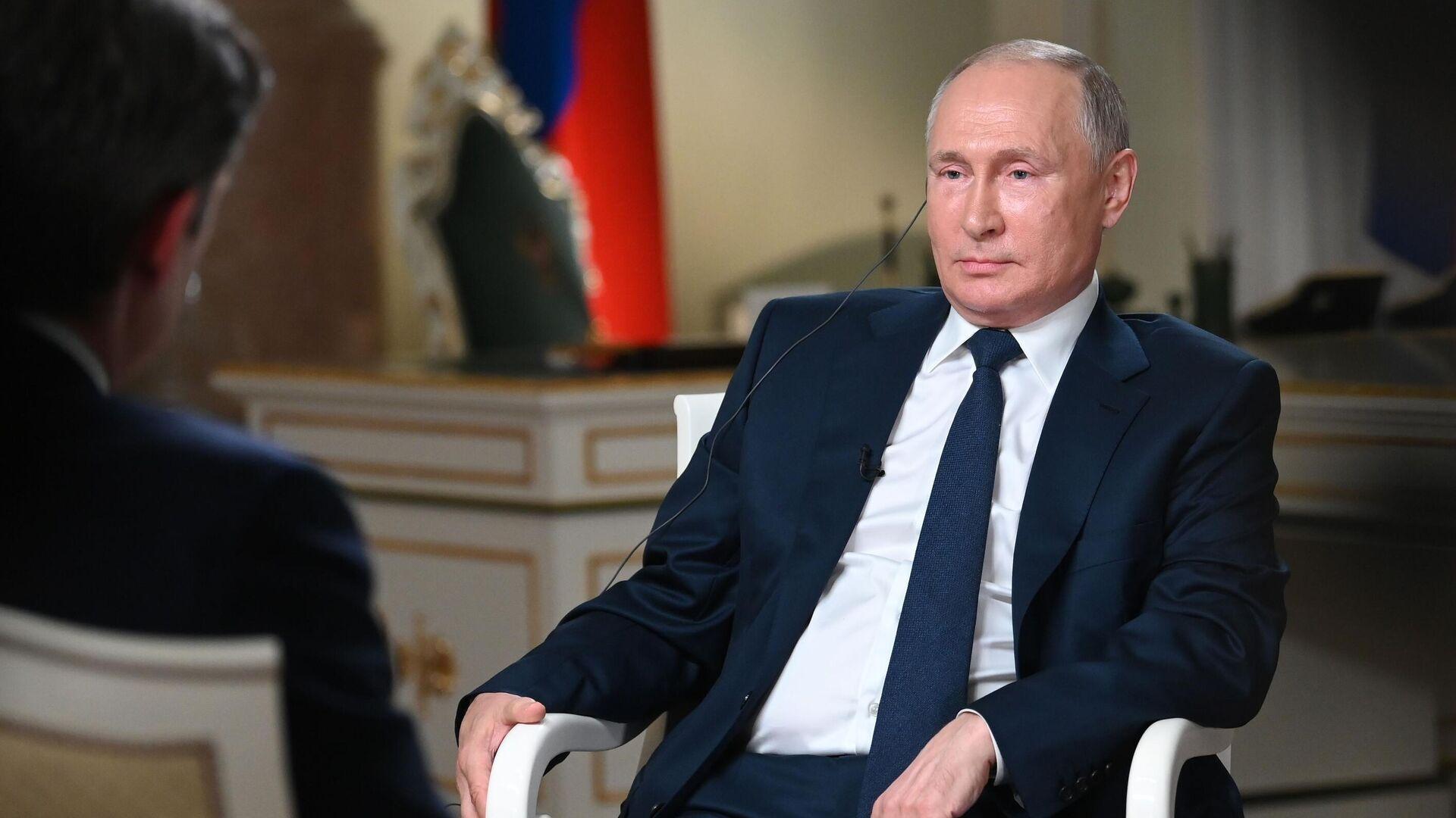 Vladimir Putin dà un'intervista alla NBC, 2021 - Sputnik Italia, 1920, 15.06.2021