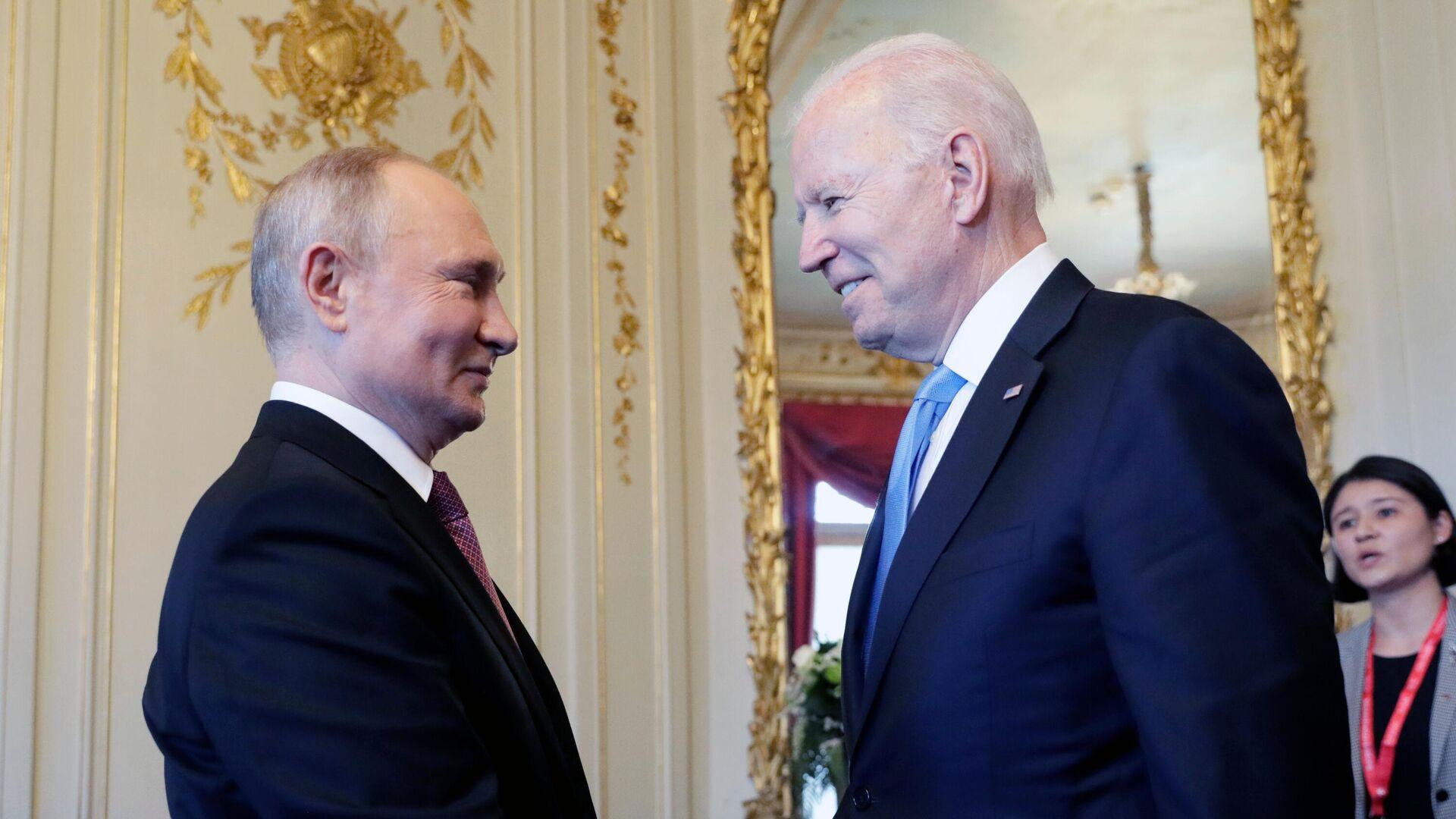 L'incontro bilaterale tra Putin e Biden a Ginevra - Sputnik Italia, 1920, 09.07.2021