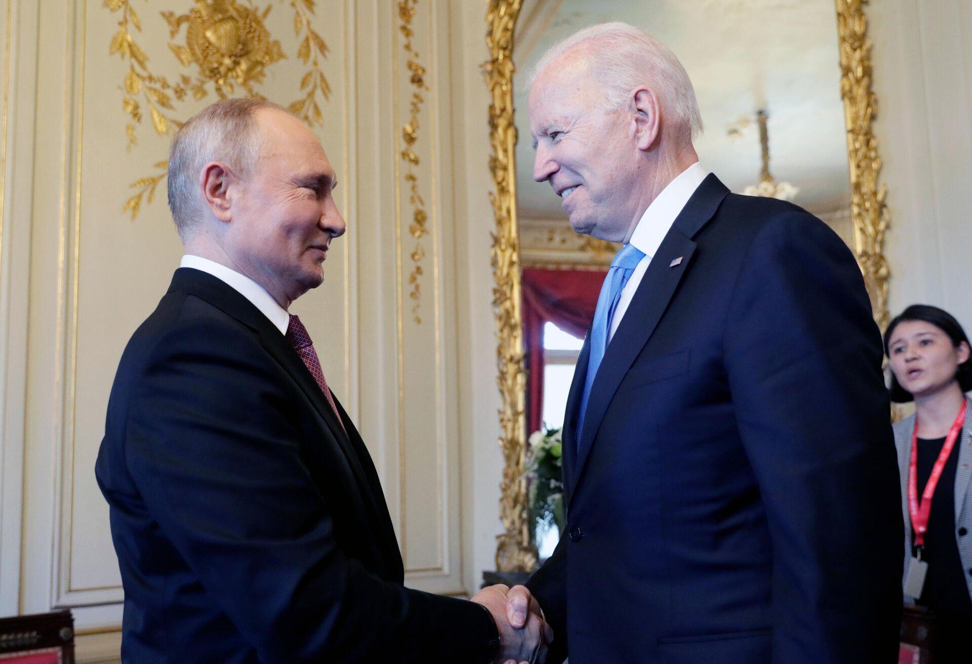L'incontro bilaterale tra Putin e Biden a Ginevra - Sputnik Italia, 1920, 10.09.2021