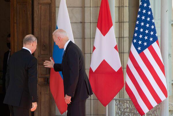 L'inizio dell'incontro bilaterale. - Sputnik Italia
