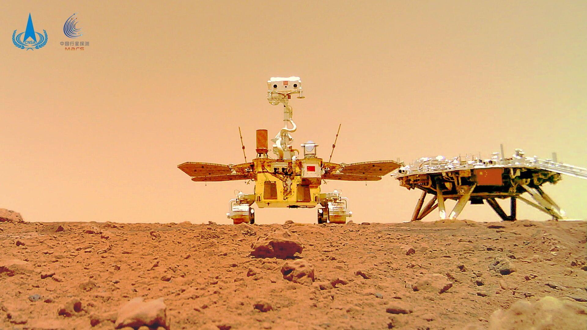 Il rover marziano cinese Zhurong - Sputnik Italia, 1920, 27.06.2021