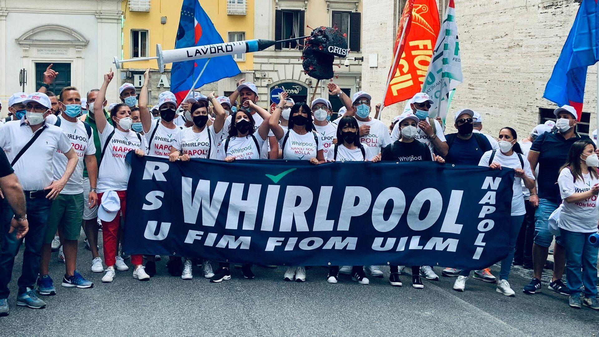 Lavoratori Whirlpool - Sputnik Italia, 1920, 13.08.2021