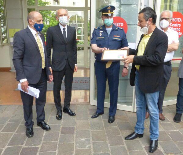 Gianluigi Valotti, Dmitry Shtodin, Dmitry Stolyarov, Marco Baratto - Sputnik Italia