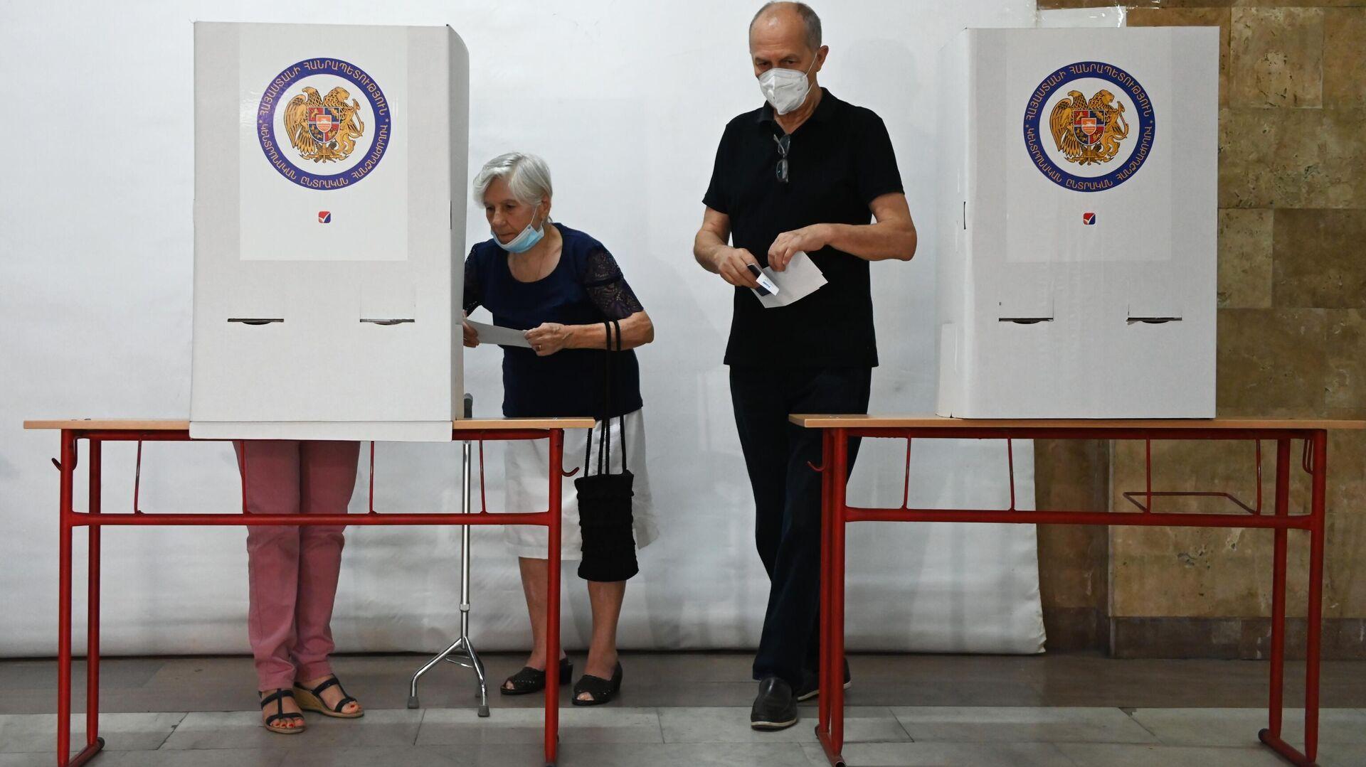 Le elezioni parlamentari in Armenia - Sputnik Italia, 1920, 20.06.2021