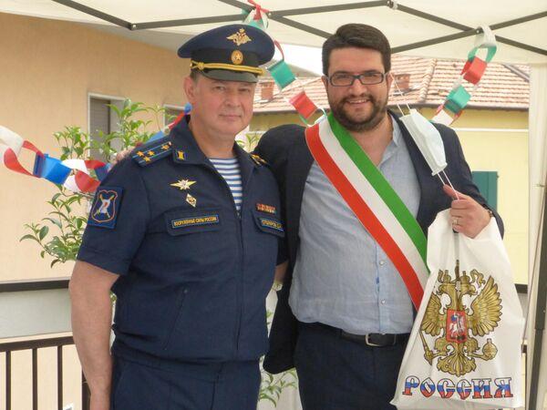Josehf Facchini e Dmitry Stolyarov - Sputnik Italia