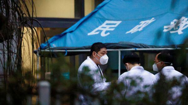 Expertos de la OMS en hospital de Wuhan - Sputnik Italia