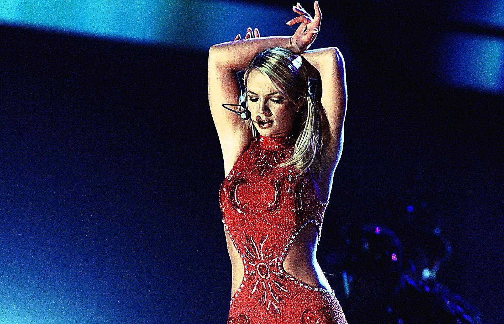 Britney Spears nel febbraio del 2000 - Sputnik Italia, 1920, 24.06.2021
