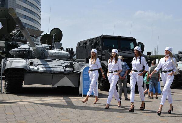 """La decima edizione dell'Esposizione Internazionale di Armi e Equipaggiamento Militare """"MILEX-2021"""", Minsk, Bielorussia.  - Sputnik Italia"""