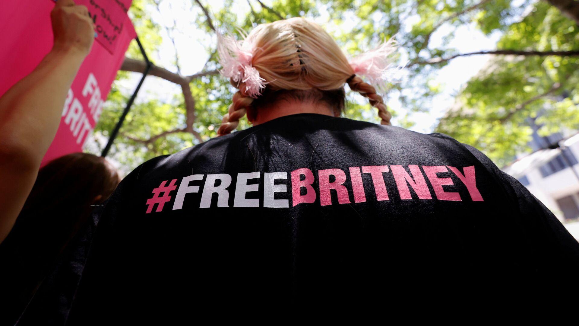 Manifestazione a sostegno di Britney Spears - Sputnik Italia, 1920, 25.06.2021