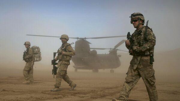 Солдаты армии США в Афганистане - Sputnik Italia