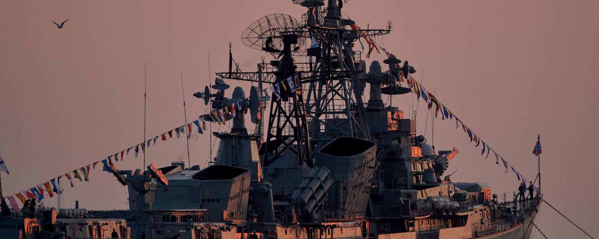 Nave da pattuglia Smetlivy nella baia di Sebastopoli - Sputnik Italia, 1920, 26.06.2021