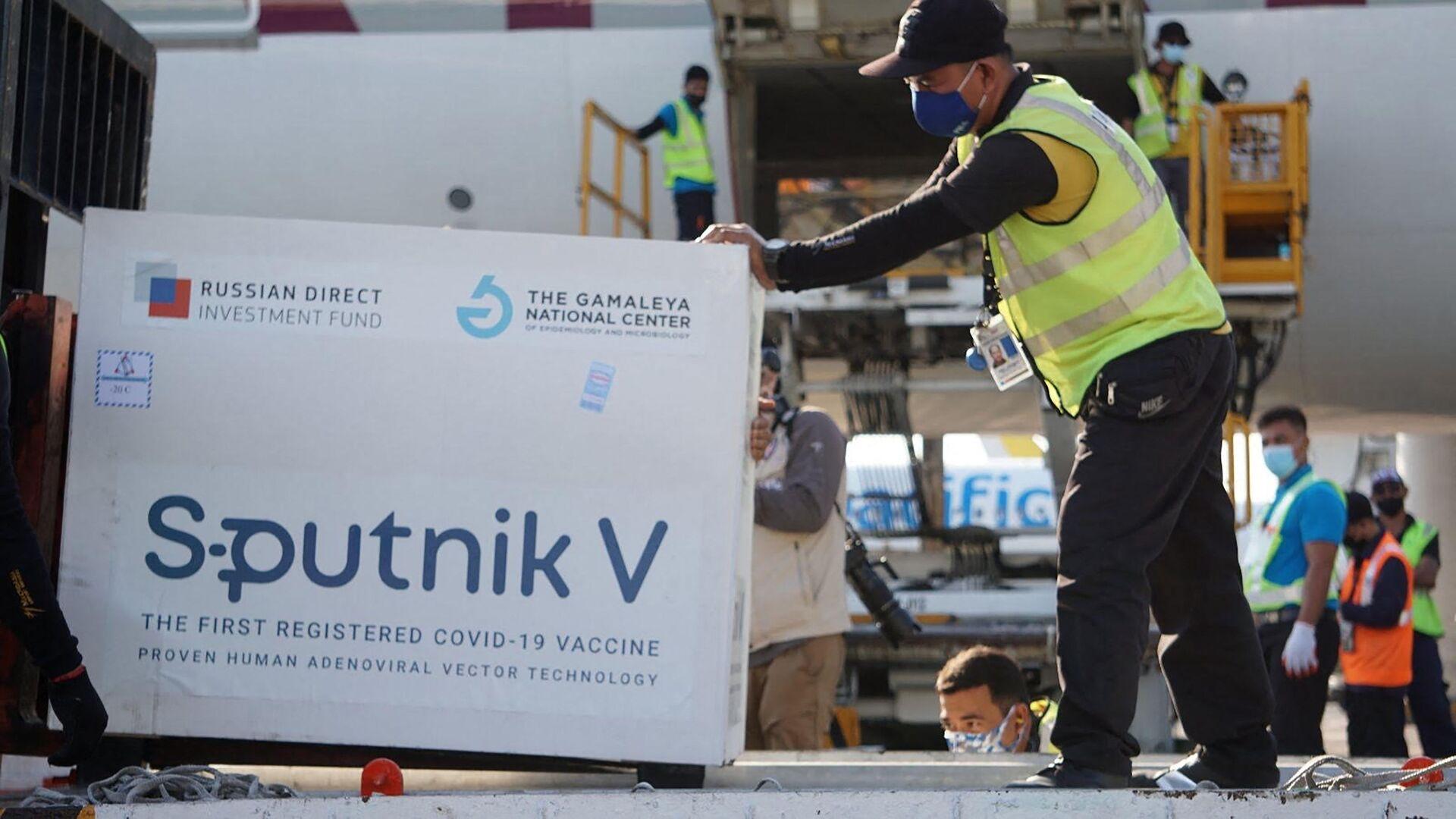 Consegna del vaccino Sputnik V alle Filippine - Sputnik Italia, 1920, 13.07.2021