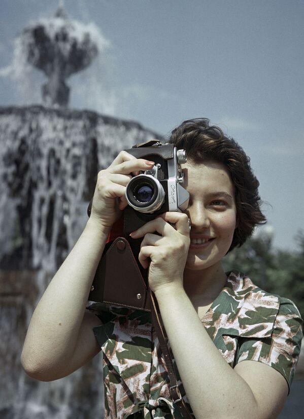 """La fotocamera sovietica """"Start"""" fu prodotta nello stabilimento meccanico di Krasnogorsk durante gli anni 1958-1964. - Sputnik Italia"""