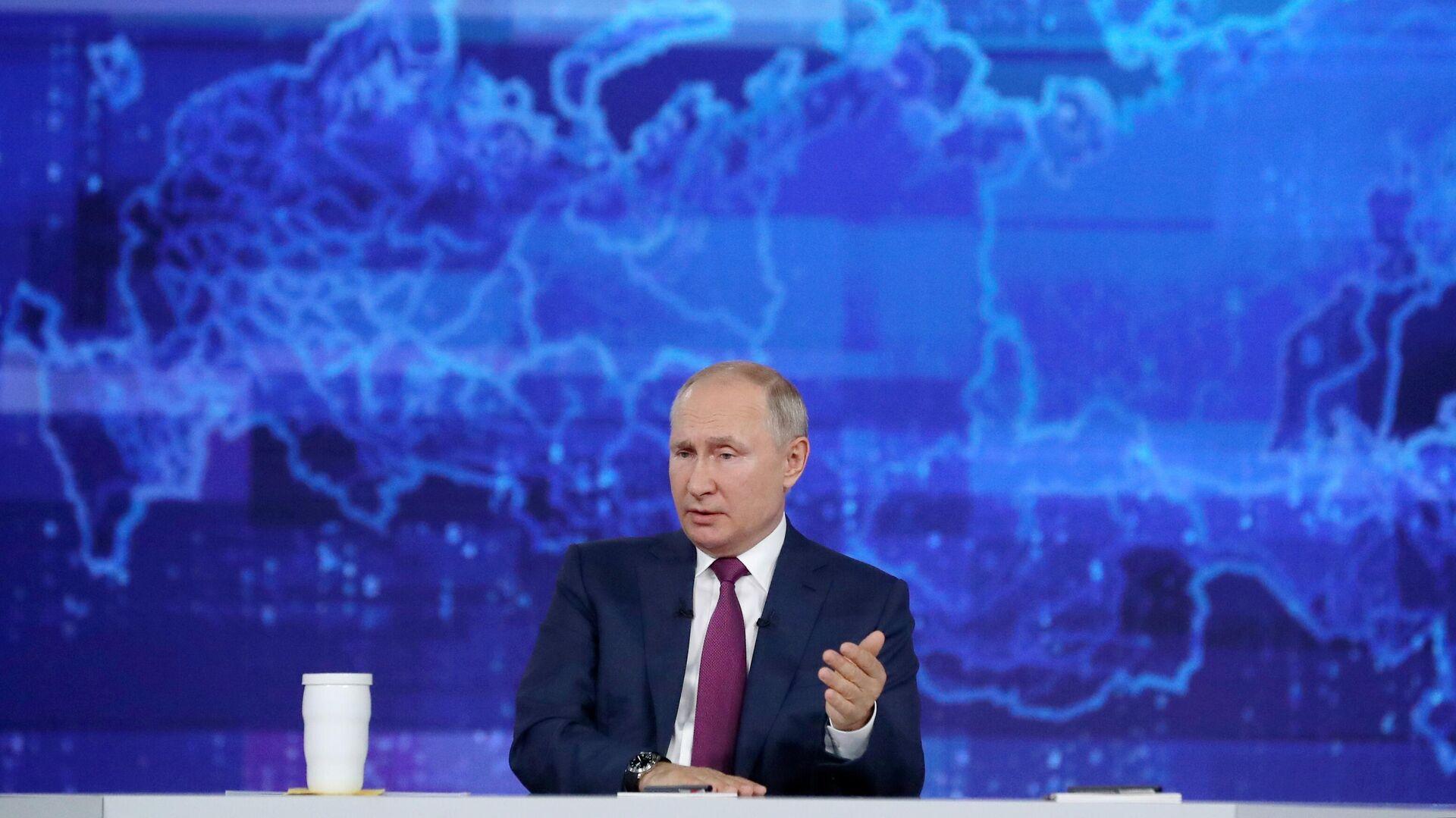 La linea diretta con Vladimir Putin - Sputnik Italia, 1920, 19.08.2021