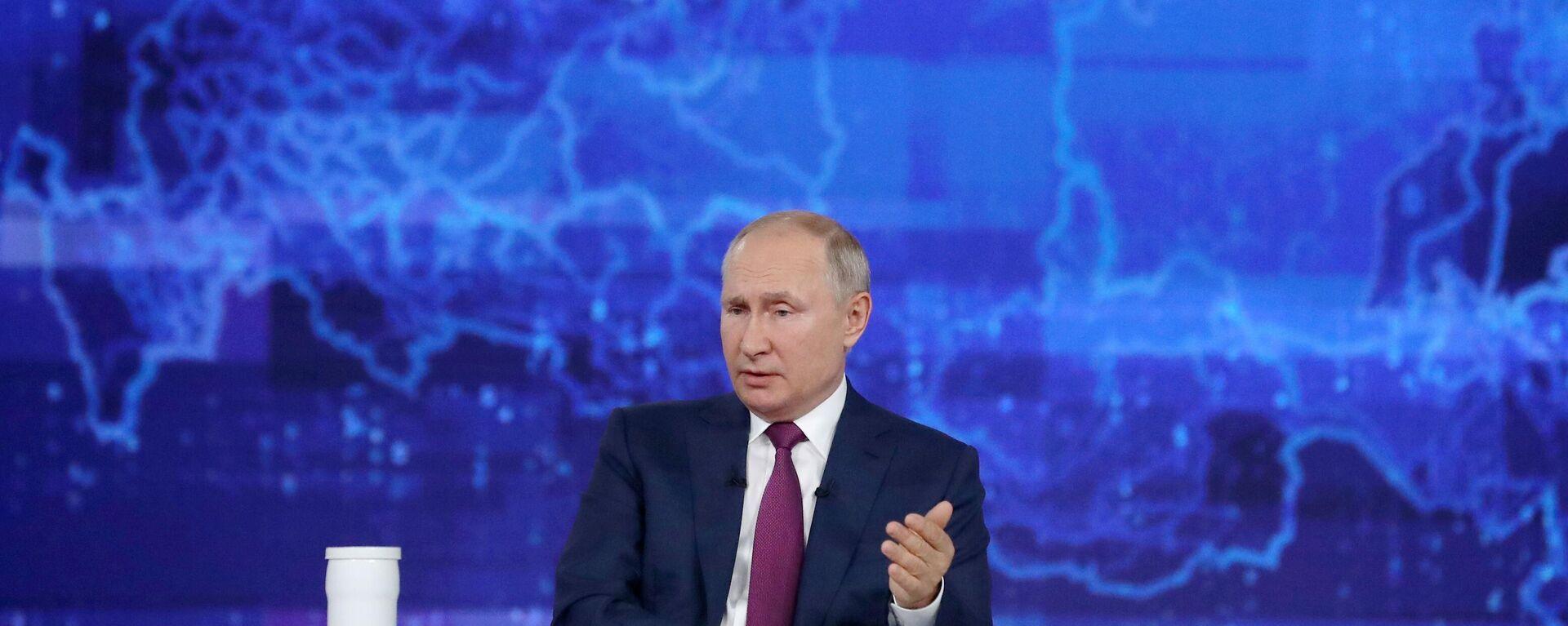 La linea diretta con Vladimir Putin - Sputnik Italia, 1920, 01.09.2021