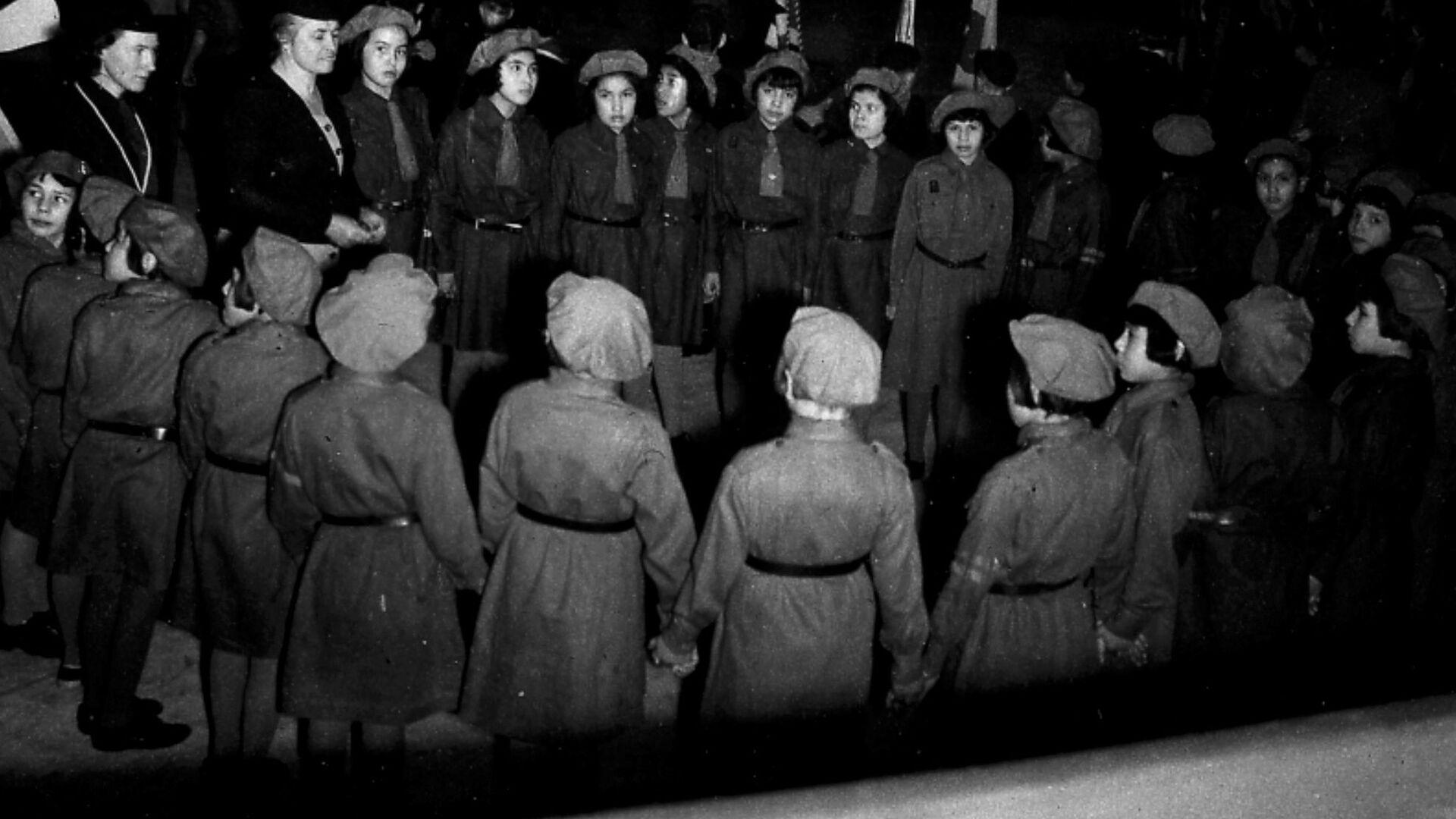 Gli alluni della scuola canadese di Shingwauk, 1951 - Sputnik Italia, 1920, 30.06.2021
