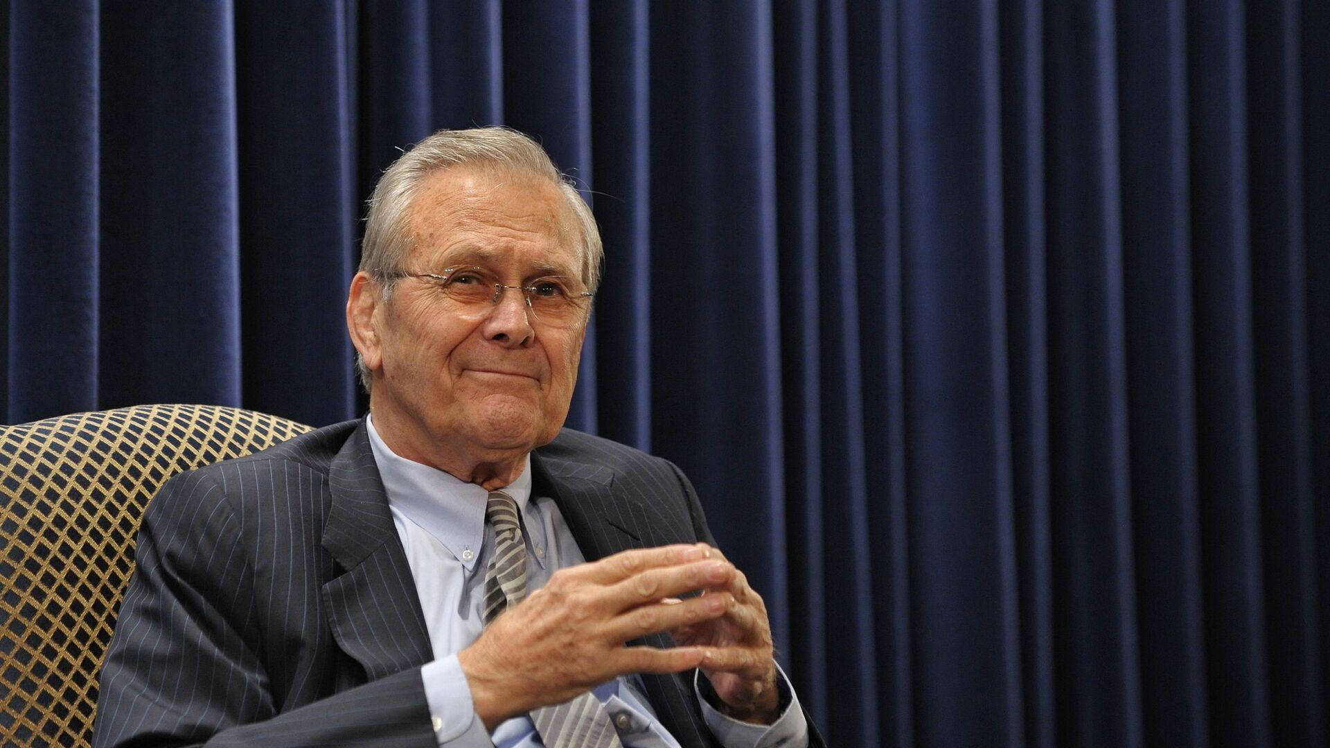 Donald Rumsfeld - Sputnik Italia, 1920, 30.06.2021