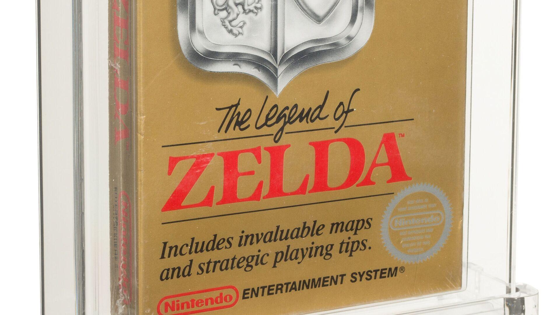 The Legend of Zelda, rara copia per NES del 1987 - Sputnik Italia, 1920, 04.07.2021
