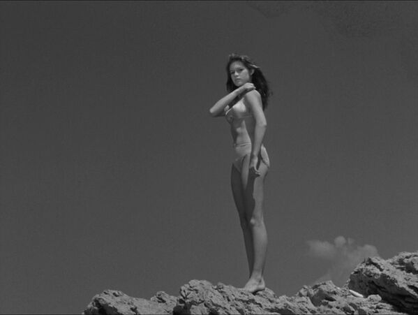"Brigitte Bardot nel film ""Manina, una ragazza in bikini"", 1952. - Sputnik Italia"