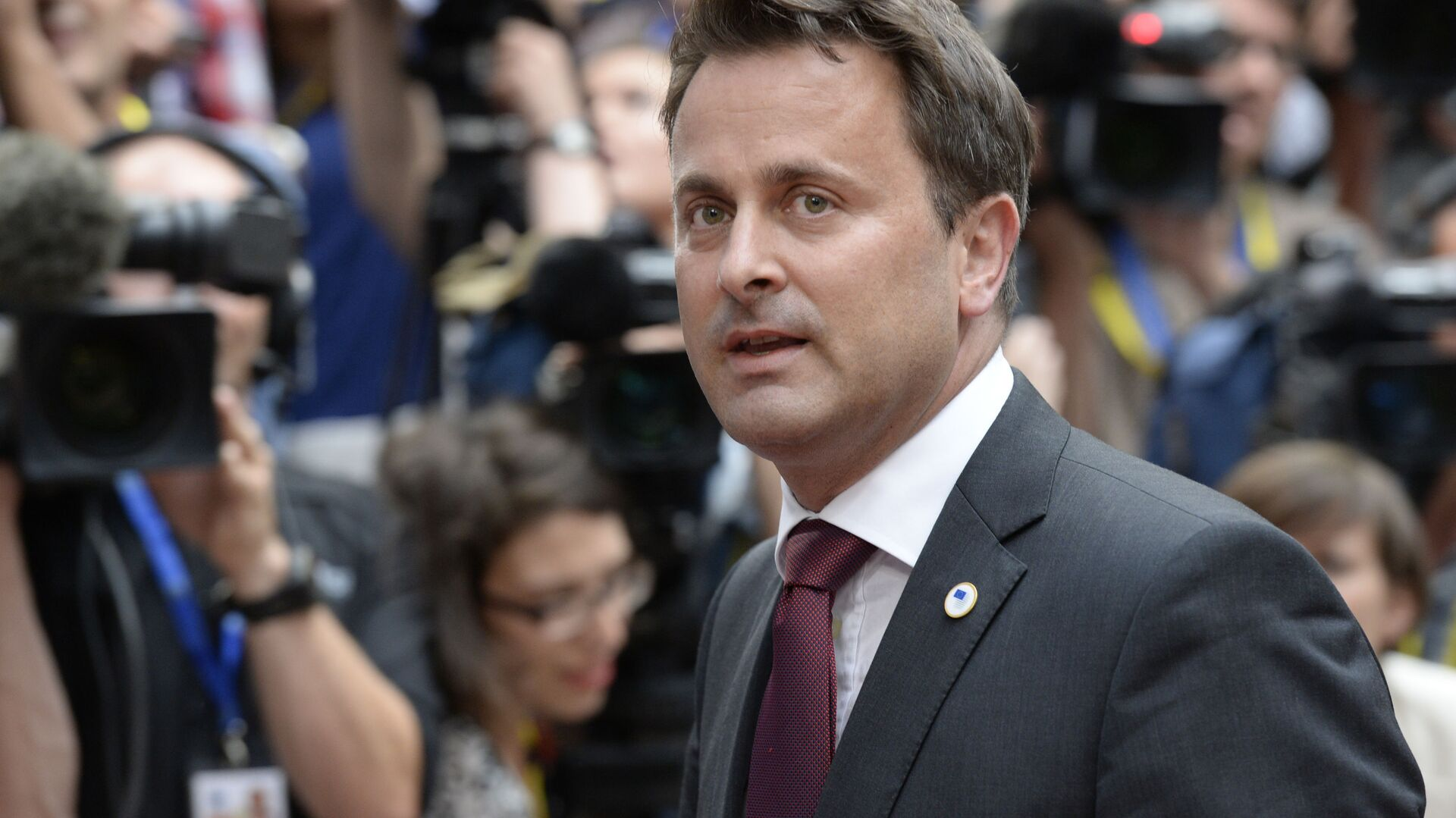 Il primo ministro lussemburghese Xavier Bettel - Sputnik Italia, 1920, 05.07.2021