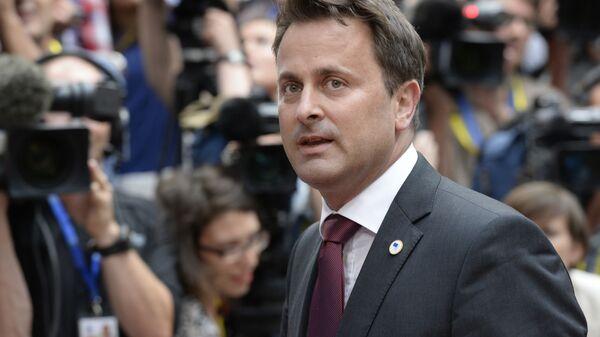 Премьер-министр Люксембурга Ксавье Беттель - Sputnik Italia