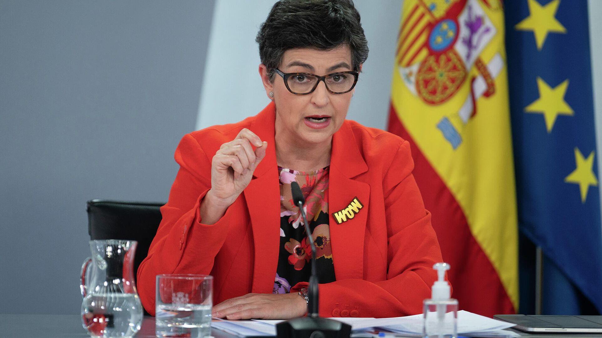 Il ministro degli Esteri della Spagna Arancha Gonzalez Laya - Sputnik Italia, 1920, 06.07.2021