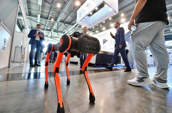 La fiera dell'innovazione e della tecnologia INNOPROM-2021 a Ekaterinburg, Russia. - Sputnik Italia