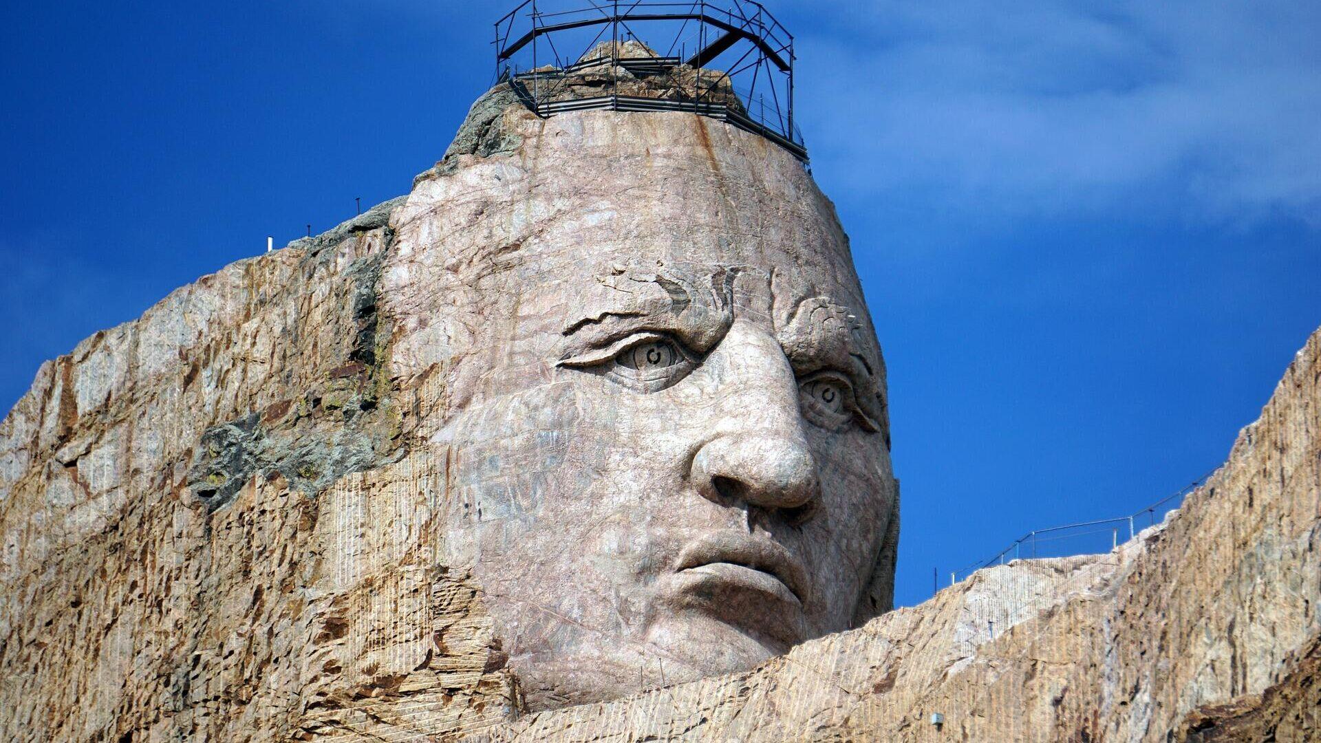 Nativi americani - monumento a Cavallo Pazzo - Sputnik Italia, 1920, 10.07.2021