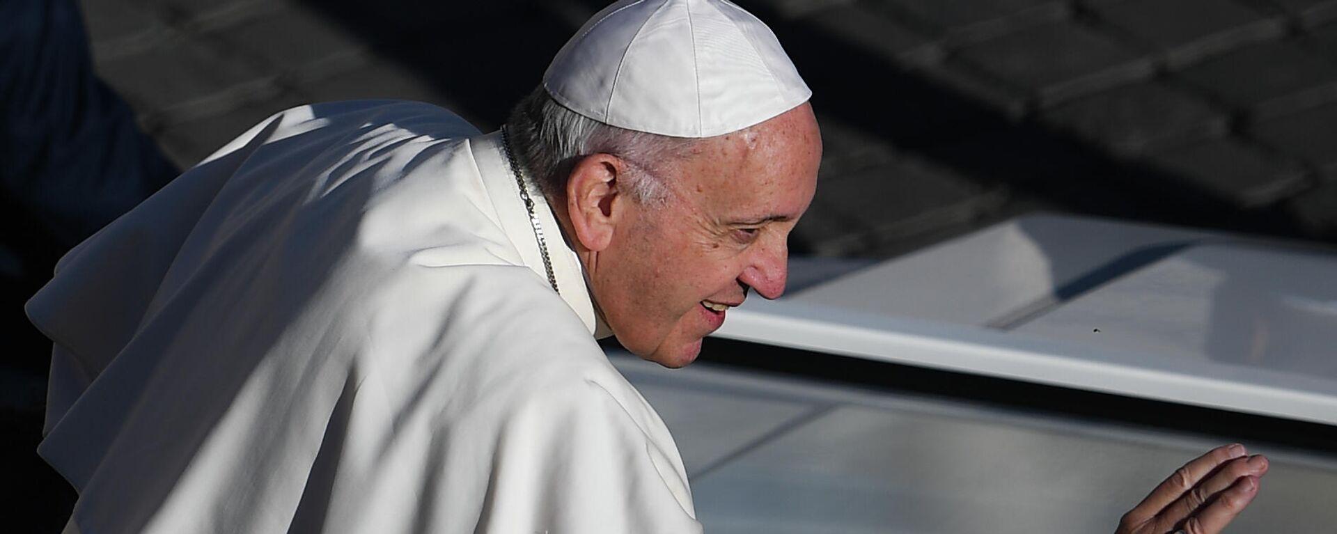 Papa Francesco - Sputnik Italia, 1920, 09.08.2021