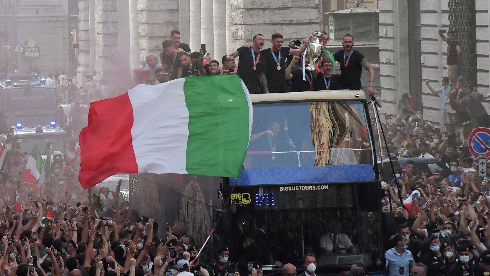 Italia Campione d'Europa - Sputnik Italia, 1920, 12.07.2021