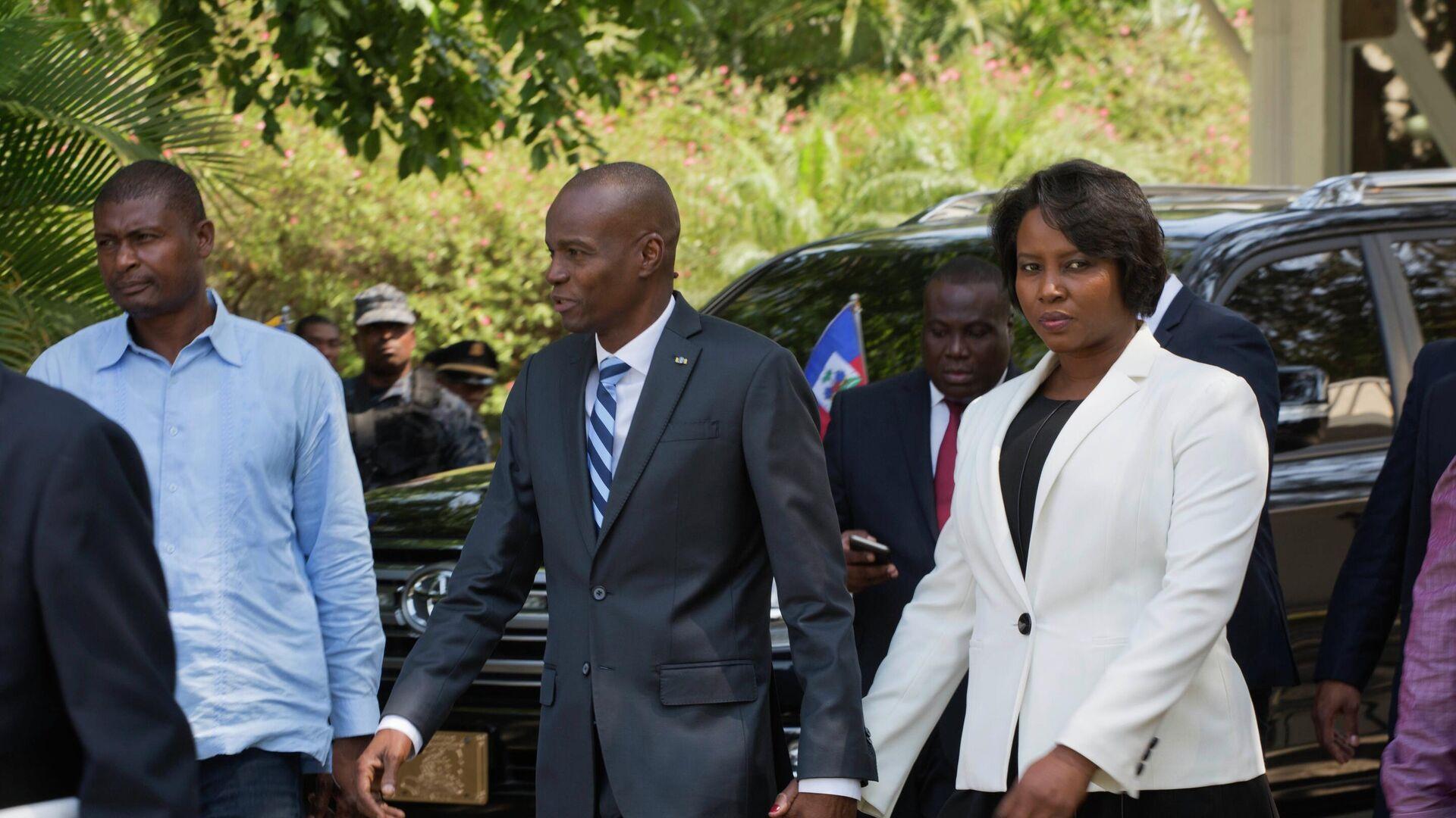 Il presidente haitiano Jovenel Moise - Sputnik Italia, 1920, 13.07.2021