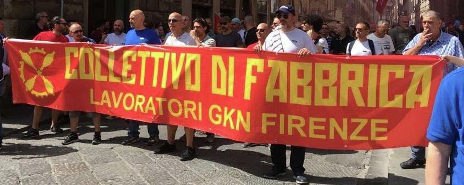 Lavoratori Gkn Firenze - Sputnik Italia, 1920, 14.07.2021