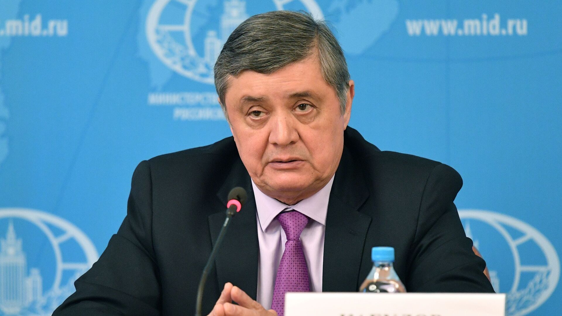 Il rappresentante speciale del presidente russo per l'Afghanistan Zamir Kabulov - Sputnik Italia, 1920, 14.07.2021