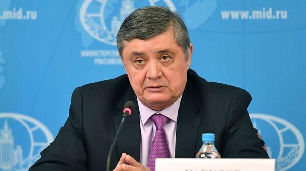 Спецпредставитель президента РФ по Афганистану, директор второго департамента Азии МИД РФ Замир Кабулов  - Sputnik Italia