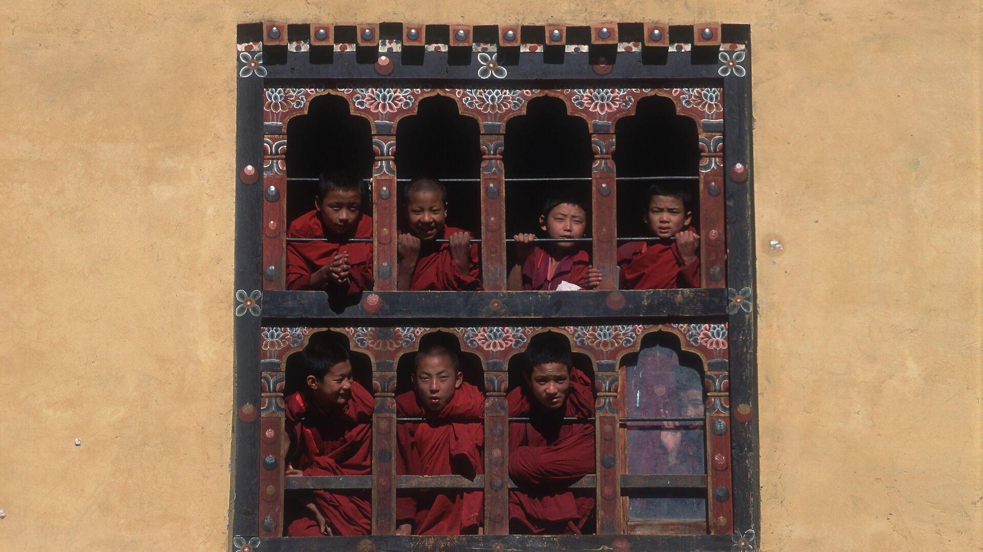 Monastero buddhista in Bhutan - Sputnik Italia, 1920, 17.07.2021