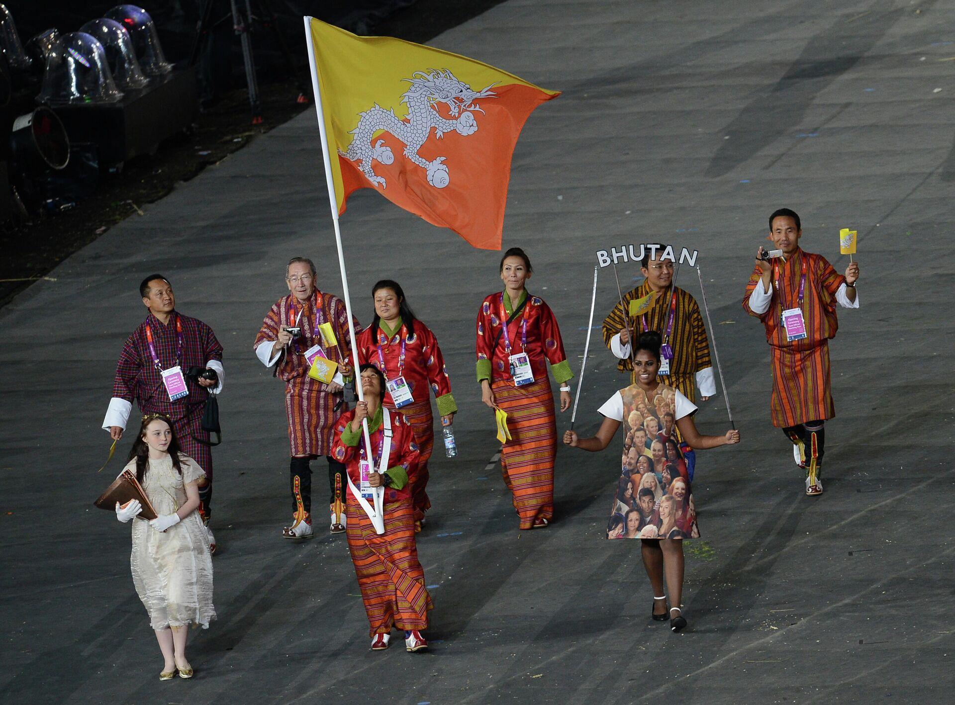 Atleti del Bhutan alle Olimpiadi - Sputnik Italia, 1920, 15.07.2021