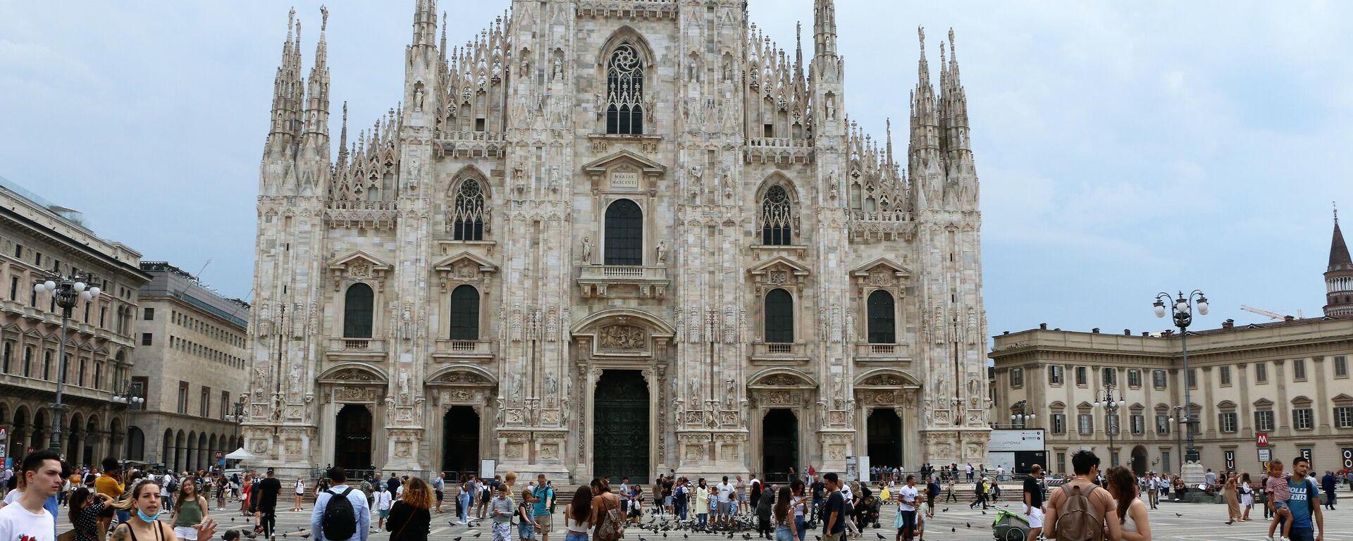 Piazza del Duomo a Milano - Sputnik Italia, 1920, 16.08.2021