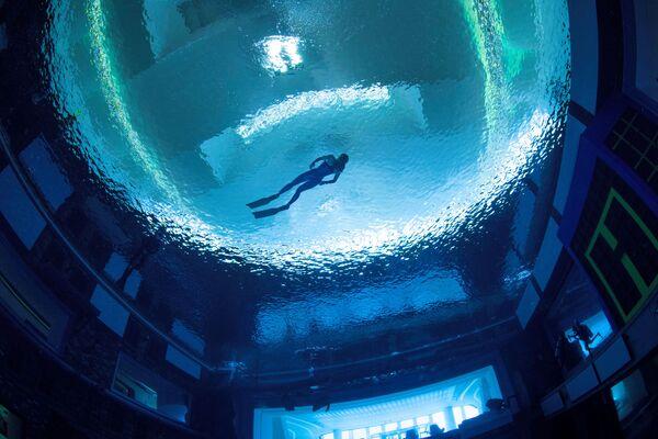 Luci e suoni selezionati specificamente creano la giusta atmosfera sott'acqua.   - Sputnik Italia