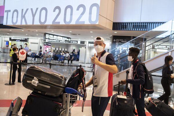 """Gli organizzatori e Il Comitato Olimpico Internazionale avevano promesso che il Villaggio Olimpico dei Giochi di Tokyo fosse """"il luogo più sicuro"""" di Tokyo. - Sputnik Italia"""