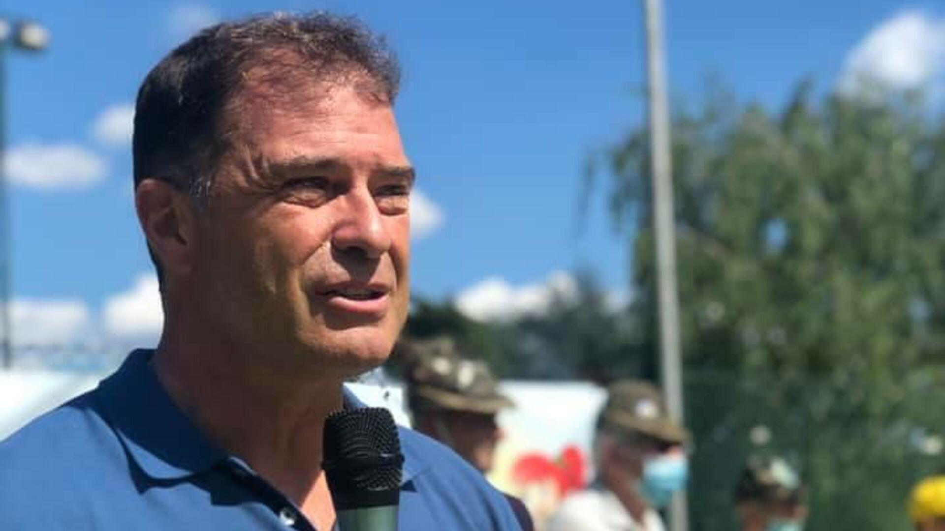 Antonio Rossi, ex canoista e politico italiano, campione olimpico e mondiale nel kayak velocità - Sputnik Italia, 1920, 20.07.2021