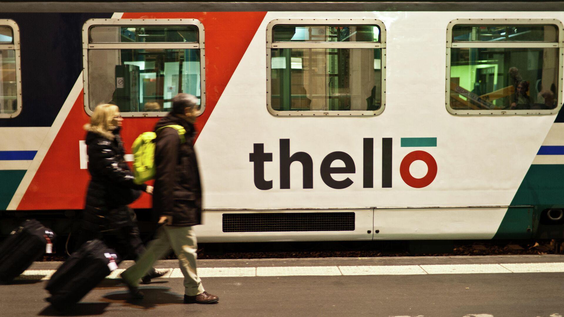 Treno Thello, società che si occupa dei convogli notturni Parigi-Milano-Venezia - Sputnik Italia, 1920, 20.07.2021