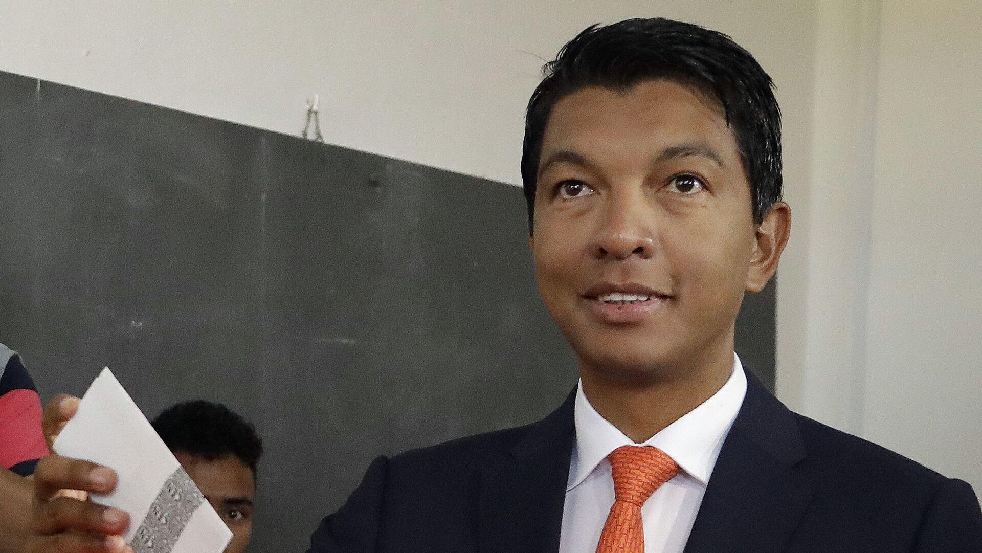 Il presidente del Madagascar Andry Rajoelina - Sputnik Italia, 1920, 22.07.2021