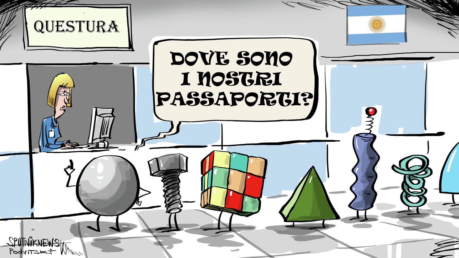 Dove sono i nostri passaporti? - Sputnik Italia, 1920, 22.07.2021